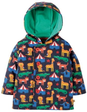Frugi Cosy Button Up Jacket Circus Parade