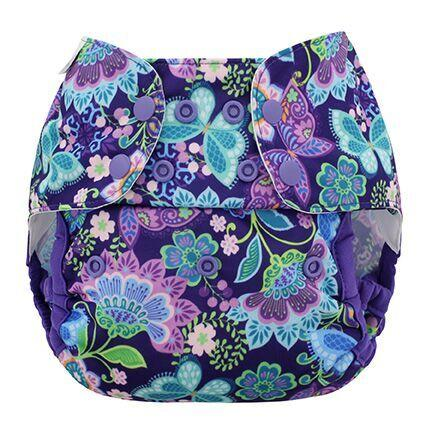 Blueberry One Size Organic Simplex Nappy