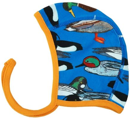 Duns Bonnet Hat Blue Duck Pond