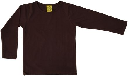 Duns MTAF Long Sleeve Top Dark Brown