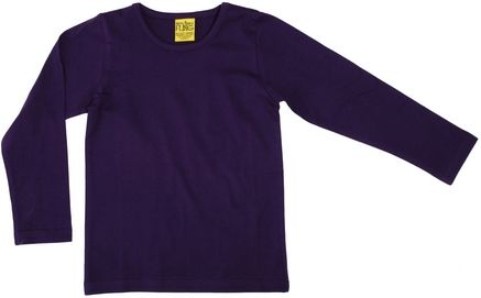 Duns MTAF Long Sleeve Top Dark Purple