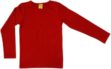 Duns MTAF Long Sleeve Top Pompeian Red