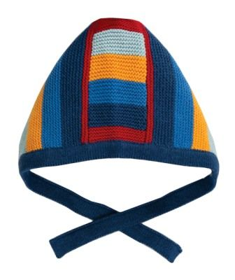 Frugi Bertie Knitted Bonnet Jolly Stripe