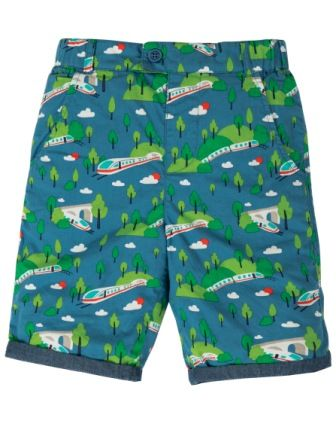Frugi Bullet Train Ralph Reversible Shorts