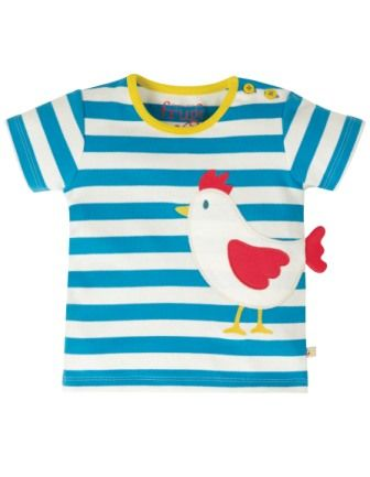 Frugi Chicken Arden Applique Top