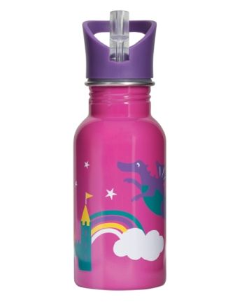 Frugi Dragon Splish Splash Steel Bottle