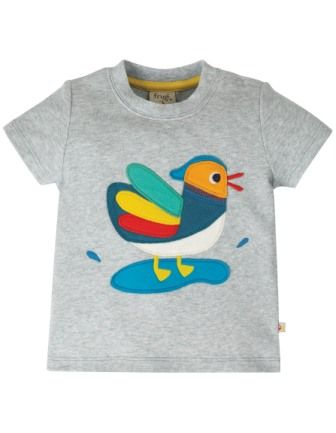 Frugi Duck Little Creature Applique Top