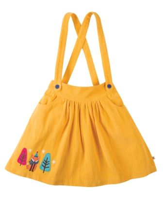 Frugi Enys Cord Skirt Honey Fox
