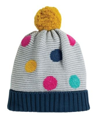 Frugi Evie Embroidered Bobble Hat