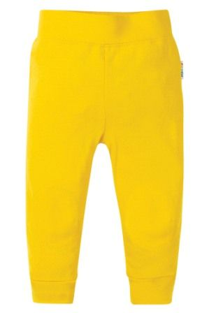 Frugi Favourite Cuffed Leggings Sunflower Yellow
