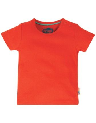 Frugi Favourite T-Shirt Koi Red
