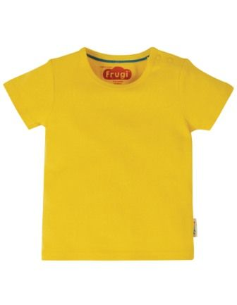 Frugi Favourite T-Shirt Sunflower Yellow