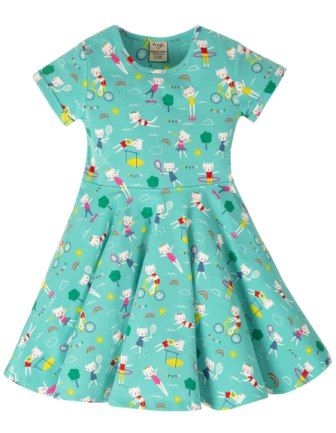 Frugi Fun at the Games Spring Skater Dress
