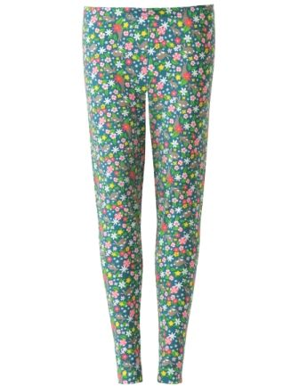 Frugi Grown Ups Libby Leggings Rabbit Fields