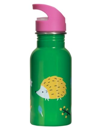 Frugi Hedgehogs Splish Splash Steel Bottle