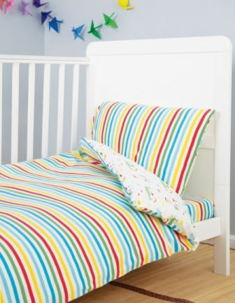 Frugi Island Life Cuddle Up Jersey Cot Bed Duvet Set