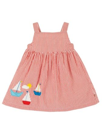Frugi Koi Red Boat Alma Summer Dress