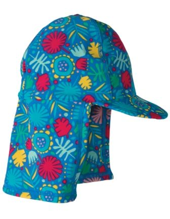 Frugi Little Swim Legionnaires Hat Jungle Jamboree