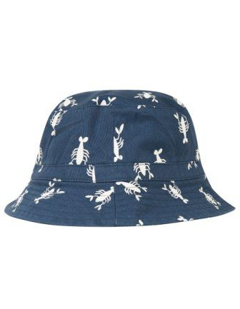 Frugi Lobster Ross Reversible Hat