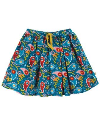 Frugi Pixie Paisley Lizzie Cord Skirt