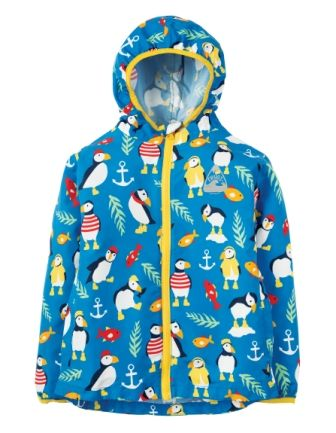Frugi Puddlebuster Suit Paddling Puffins