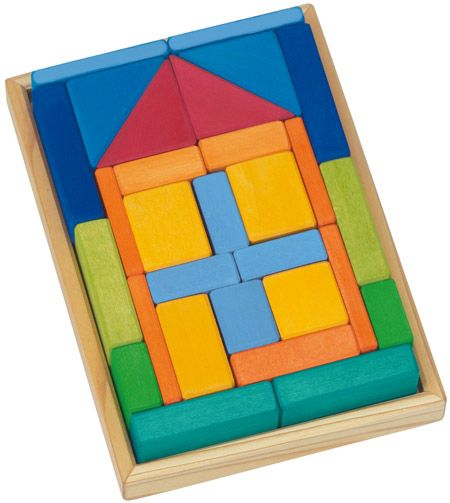 Gluckskafer Building Blocks Set House