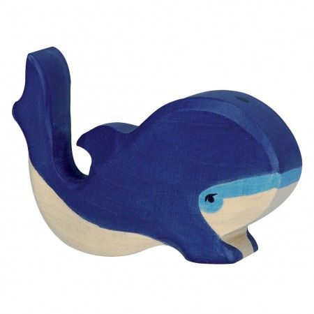 Holztiger Blue Whale Small