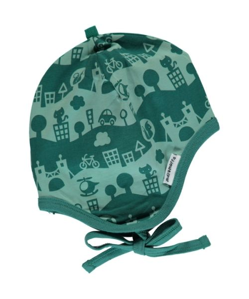 Maxomorra Helmet Hat City Landscape