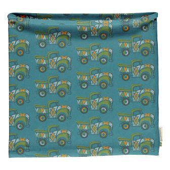Maxomorra Painted Trucks Tube Scarf