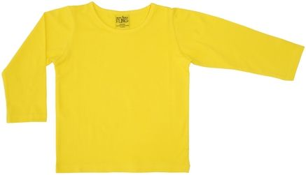 More Than a Fling MTAF Long Sleeve Top Yellow