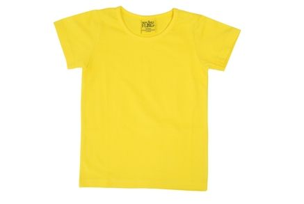 More Than a Fling MTAF Short Sleeve Top Yellow
